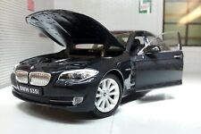 1:24 Scale BMW 5 Series 535i F10 Saloon 24026 V Detailed Welly Model Car Black