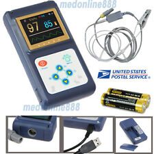 Vet Tongue Probe Handheld Pulse Oximeter SPO2 Pulse Oxygen Saturation Monitor+SW