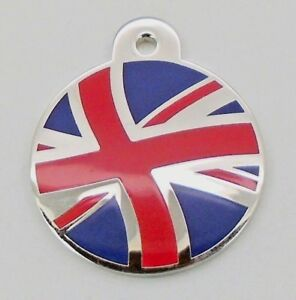 Pet Tags ~ Large pet id Engraved Patriot tags