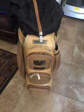 Glove It Signature Collection Ladies Golf Cart Bag Ivory Brown Trim