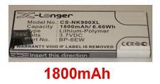 Batterie 1800mAh type BP-6EW Pour Nokia Lumia 900