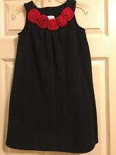 Hanna Andersson Black Sleeveless Dress Girls Size 140  10