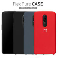 For OnePlus 7 Pro 6T 6 5T Original Silicone Shockproof Genuine Back Case Cover