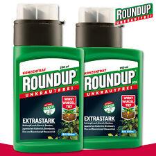 Roundup Unkrautfrei 2x 250ml Spezial Konzentrat Bambus Springkraut Ampfer Klee