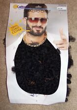 New Macho Chest Vinyl Cover Hairy Guy Costume Party