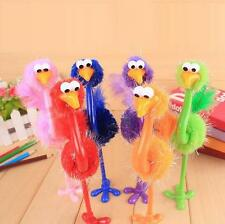 Ballpoint pen Stationery Cartoon Random Color 2 Pcs Ostrich Creative Student