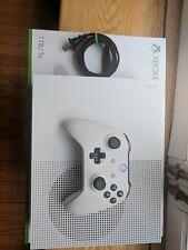 Microsoft Xbox One S 1TB White Gaming Console Pristine