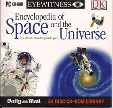 Dorling Kindersley PC CD-ROM enciclopedia dello spazio e l'universo