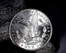 BU 1886-p VAM-1A Line in 6 , Doubled Ear, Top 100 Morgan Silver Dollar Coin