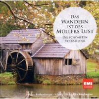 PREY/ROTHENBERGER/SCHOCK - DAS WANDERN...VOLKSLIEDER  CD 33 TRACKS CLASSIC NEU