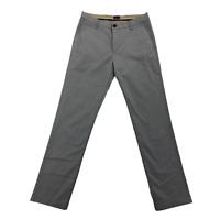 Dockers Men's Slim Fit Pants 32x32 Cotton Nylon Blend Light Gray Flex Comfort