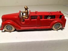 VINTAGE 1920's Tootsietoy Fire-Truck with Driver