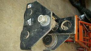 Ingersoll Rand Plain Push Trolley-3-Ton Cap beam roller  #PT030
