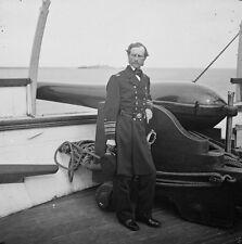 Union Admiral John A. Dahlgren Gun USS Pawnee Charleston 8x10 US Civil War Photo