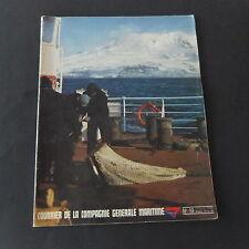 Marine marchande Mag Compagnie Générale Maritime n°19 1979 rouliers Ango Ronsard