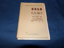 Gold and Gems or Junk Hitchens 1975 2nd ed r