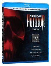 Blu Ray MASTERS OF HORROR season 1 volume 4. Region free. New sealed.