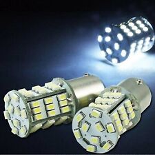 #1157 White 54 LED Pair 12V Tail Light Rear Brake Stop Turn Signal Lamps Bulbs