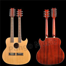 Double Neck 12+6 strings Acoustic guitar of Pango Music factory (PDN-1212)