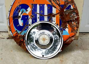 1956 1957 Lincoln Premiere Hubcap Hub Cap Wheelcover Medallion Emblem Convert HT