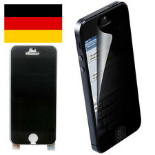 iPhone 5 5S SE Privacy Display Schutzfolie Blickschutz Antispy Screen Protector