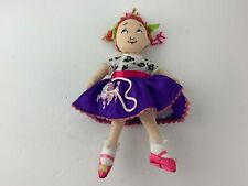 Fancy Nancy Doll w/ Poodle Skirt 9� Cloth Doll - Madame Alexander Soft Doll Euc