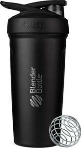 Blender Bottle Strada Shaker Cup Insulated Stainless Steel Water Bottle 24 OZ