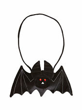Tasche Fledermaus Schwarz Accessoires Kostüm Hexe Halloween Karneval Fasching