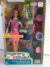 Barbie 2002 Mystery Squad Drew Doll VHTF NRFB