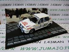 voiture 1/43 IXO Altaya CITROËN VISA 1000 pistes Monte Carlo 1985 Andruet #7