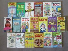 Lot of 19 MAD MAGAZINE Vintage Comic Paperbacks