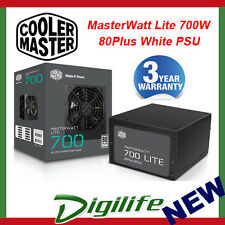 Cooler Master MasterWatt Lite 230V 700W 80+ White Power Supply coolermaster