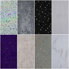 10 White Black Grey Sparkle & Marble Shower Wall Panels PVC Bathroom Cladding