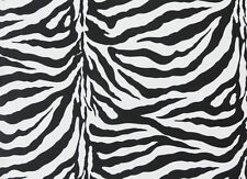 "ZEBRA SINGLE SPANDEX 4 WAYS STRETCH 58"" BY THE YARD"