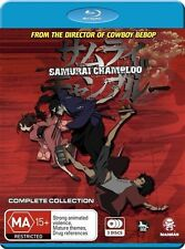 Samurai Champloo Complete Collection NEW B Region Blu Ray