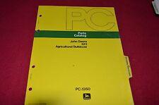John Deere 523 Agricultural Bulldozer Dealer's Parts Book Manual PANC