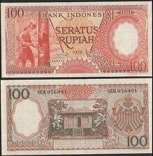 Indonesia 1958 100 rupiah unc