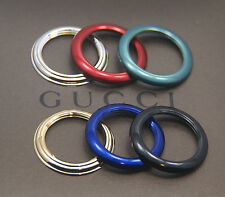 New Gucci 6 Metal Bezel Set - Gold, Silver +
