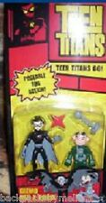 """Teen Titans Go 3.5"""" GIZMO & RED X Robin Posable Action Figures NeW in Package"""