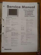 Panasonic Reparacion De Manual De Servicio TX-29AB50/29B50 TV,ORIGINAL