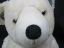 BIG DISCOVERY CHANNEL STORE LIFELIKE WHITE POLAR BEAR BABY CUB PLUSH STUFFED