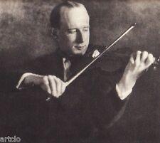 Héliogravure - 1926 - par Erich Böhm - Le violoniste Kulenkampff