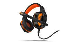 Auriculares Gaming Nox Konor Krom negro y naranja