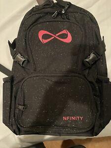 Nfinity  Sparkle Backpack Black/Pink