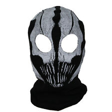 Travel Call of Duty COD Commander Elias Balaclava Ghost Mask Skull Face Hood New