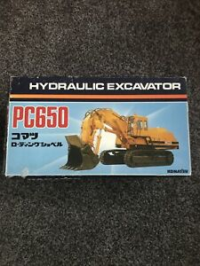 KOMATSU HYDRAULIC EXCAVATOR PC650 SCALE 1:50 MADE IN JAPAN