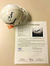 Jordan Spieth signed Texas Longhorns NCAA Mini Helmet JSA Letter PGA Golf
