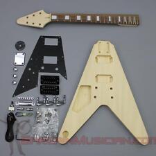 Bargain Musician - GK-007L - LEFT Hand DIY Unfinished Project Luthier Guitar Kit