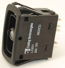 Rocker Switch: Carling Tech L72D1HHH1 Double Pole Progressive On - Off - On