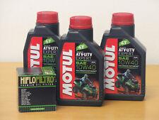 Motul Öl Quad teilsynthetisch / Ölfilter Suzuki LTA 750 King Quad Bj 2008 - 2016